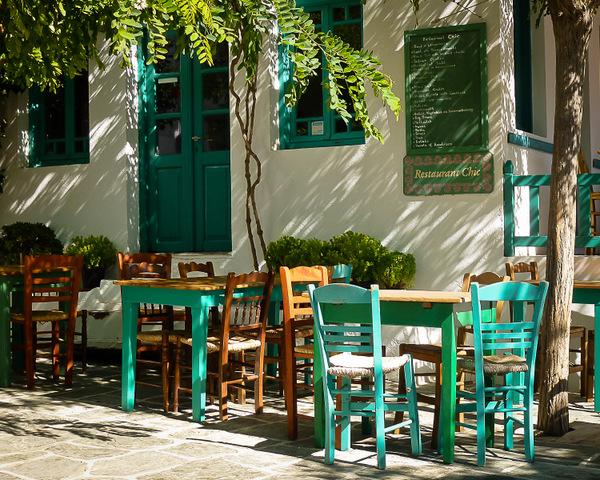 Green Restaurant Terrace