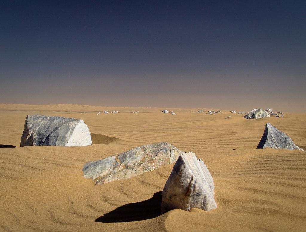 Algeria Lunar Landscape