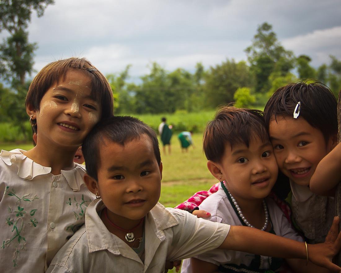 Burma Smiling Kids