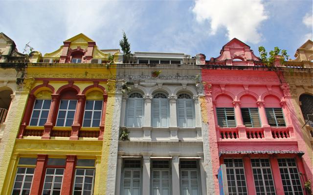 Kuala Lumpur Colonial Houses
