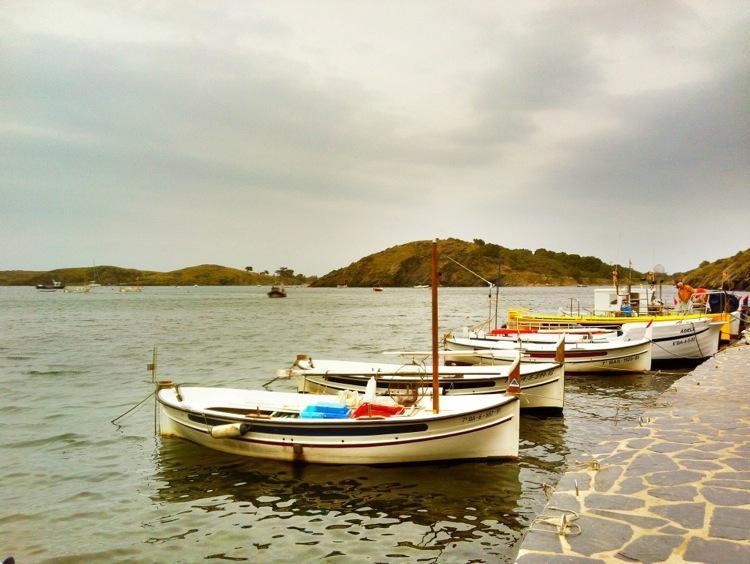 Costa Brava, Fishing Boats in Portlligat