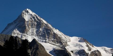 Switzerland, Valais Dent Blanche