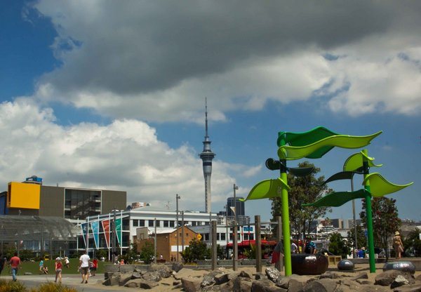Auckland Colorful Square