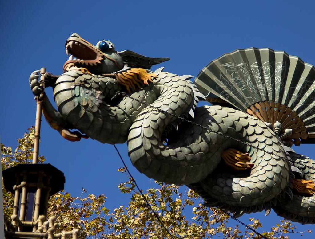 Barcelona Rambla Dragon