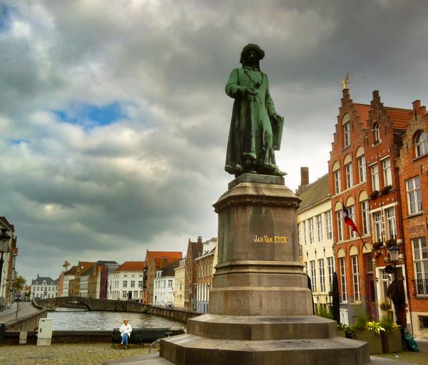 Bruges Van Eyck Square