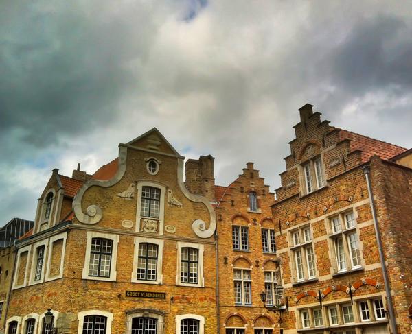 Bruges Rooftops
