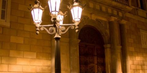 Barcelona-at-Night-Palau-de-la-Generalitat-Small