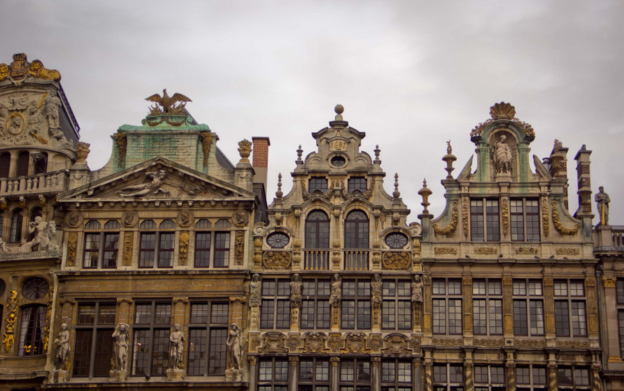 Brussels-Grand-Place-Superb-Architecture