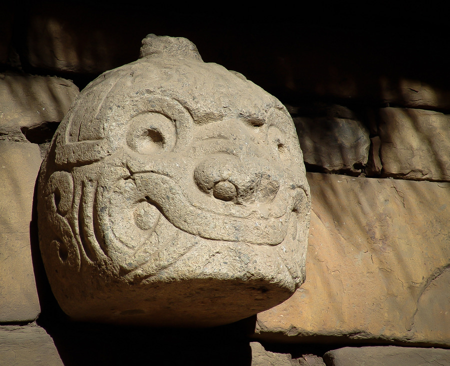 Cabeza Clava Chavìn de Huantar