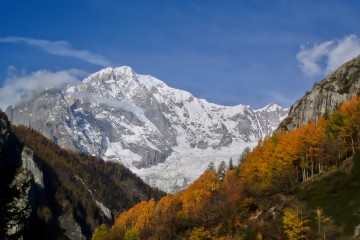 Autumn Colors and the Mont-Blanc