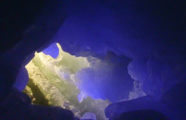 Nature's Ice Palace - Small Ice Cave