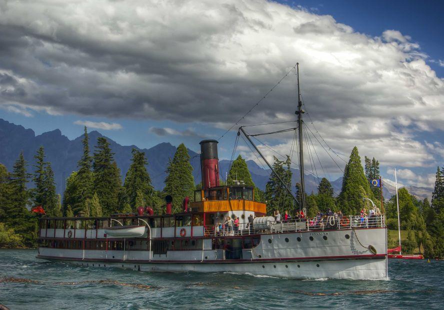 Lake Wakatipu Old Steamboat