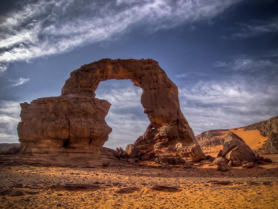 Algerian Desert, Rock Arch