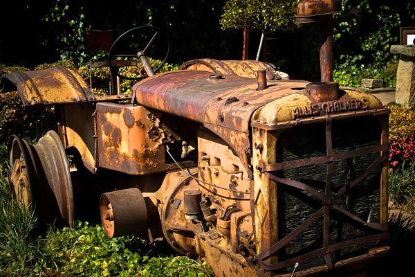 Clarens Vintage Tractor
