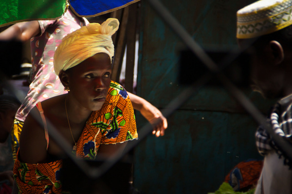 Gambia Lady at the Market
