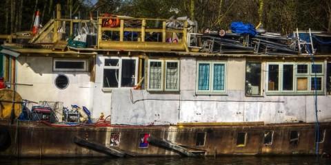 Thames Old Barge