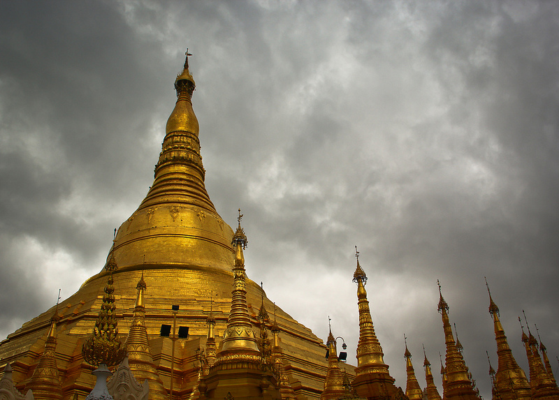Burma, Shwedagon Pagoda