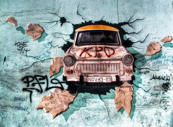 Berlin East Side Gallery Memory Hope And Decay