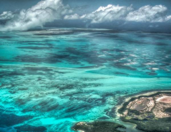 Blue and Turquoise Los Roques