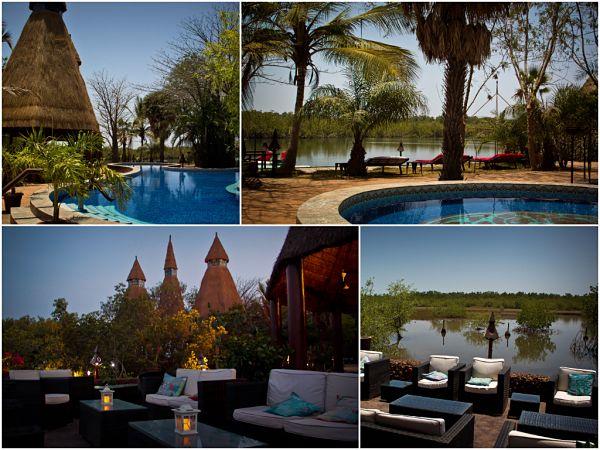 Mandina Lodges, Swimming Pool and Bar