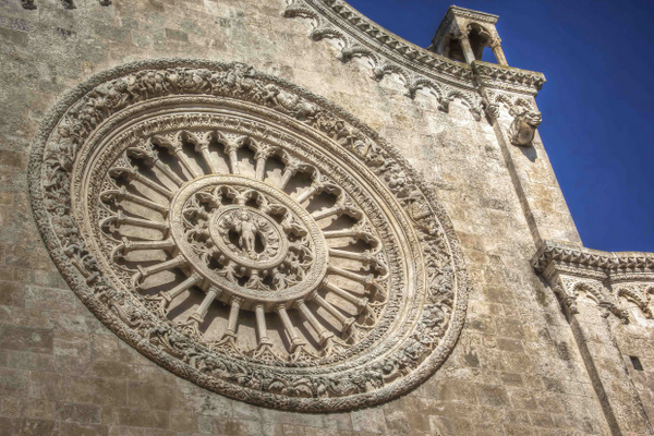 Ostuni Cathedral's Rose Window