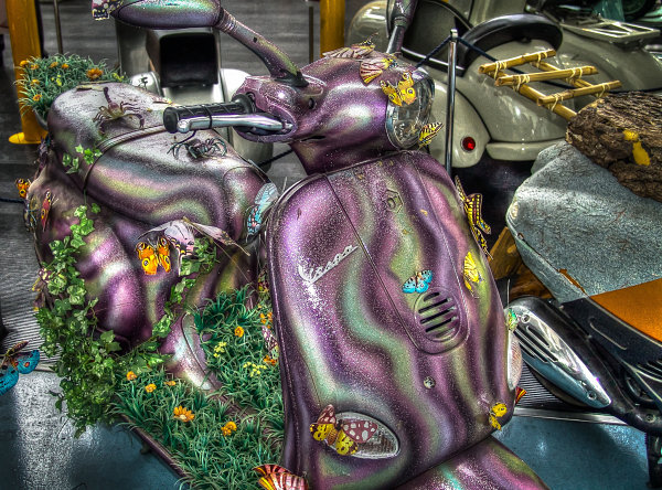 VespArte, Purple Vespa