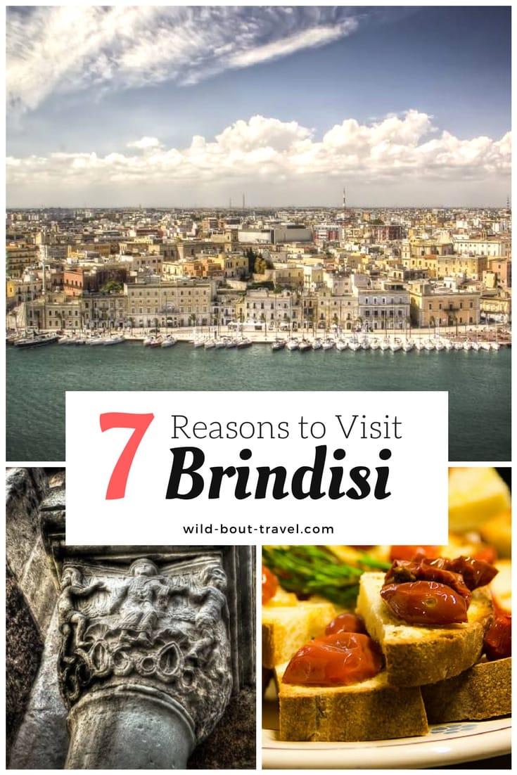 7 reasons to visit Brindisi