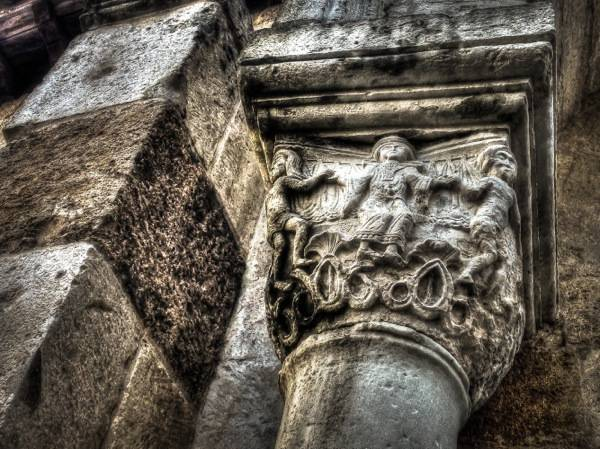 Brindisi, A Carved Capital