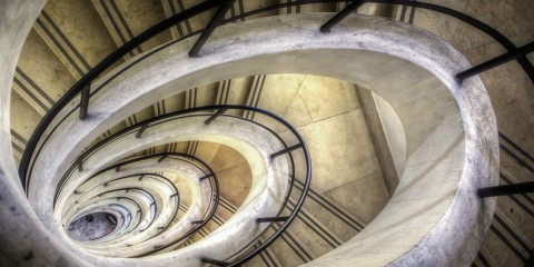 Brindisi Sailors Monument Oval Spiral Staircase