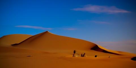 Desktop Wallpaper - Sand Dune in the Algerian Desert