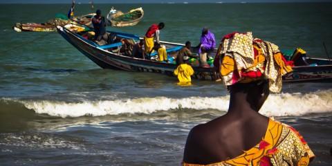 Gambia-Scene-from-the-Tanji-Market