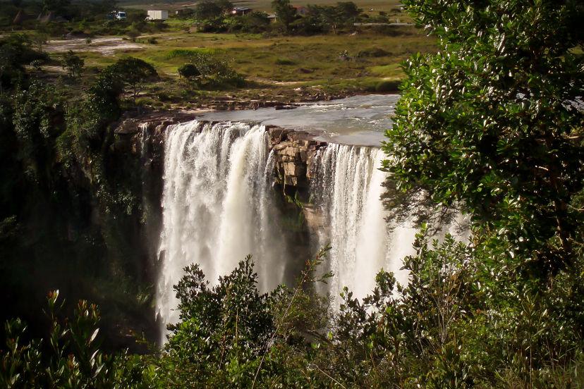 Venezuela,  Gran Sabana Waterfall