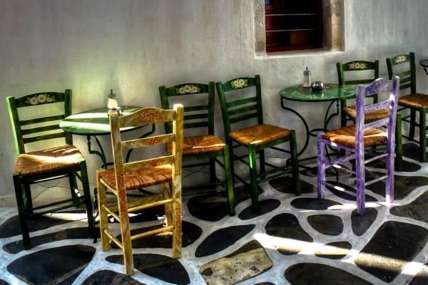 Mykonos, Al Fresco Café