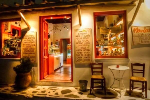 Mykonos, Local Restaurant