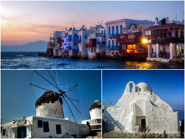 Mykonos Island Postcard
