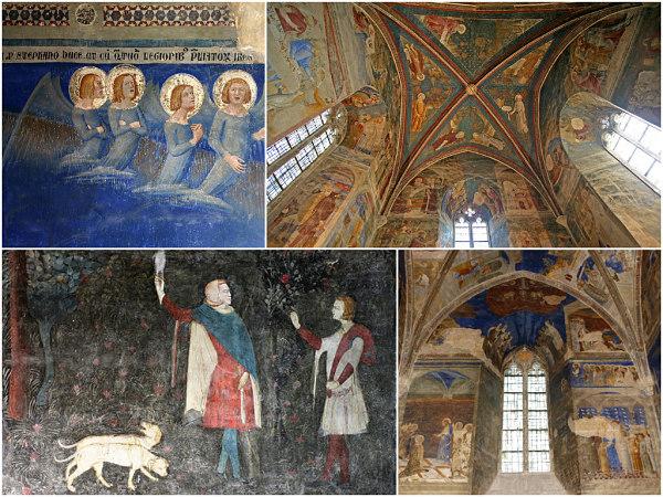 Avignon Palais des Papes Frescoes