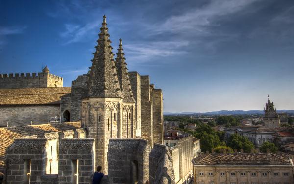 Avignon Palais des Papes Rooftop