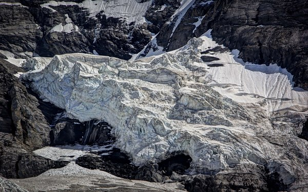 Jungfraujoch, Overlooking the Glacier