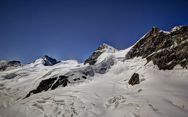 Jungfraujoch, Glaciers