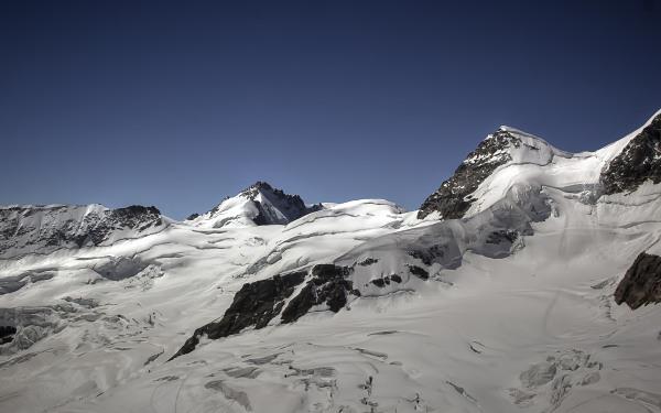 Jungfraujoch, Breathtaking Glaciers