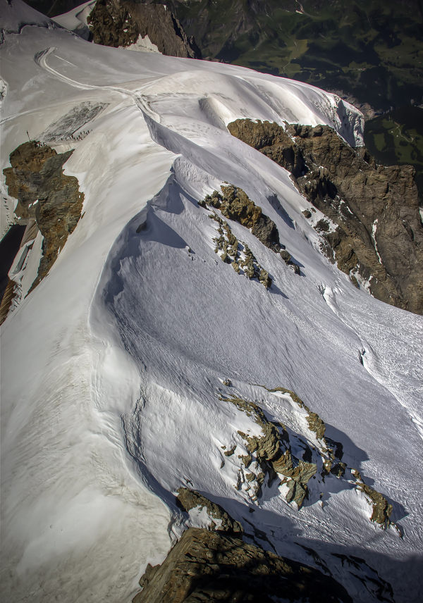 Jungfraujoch, White Winding Ridge