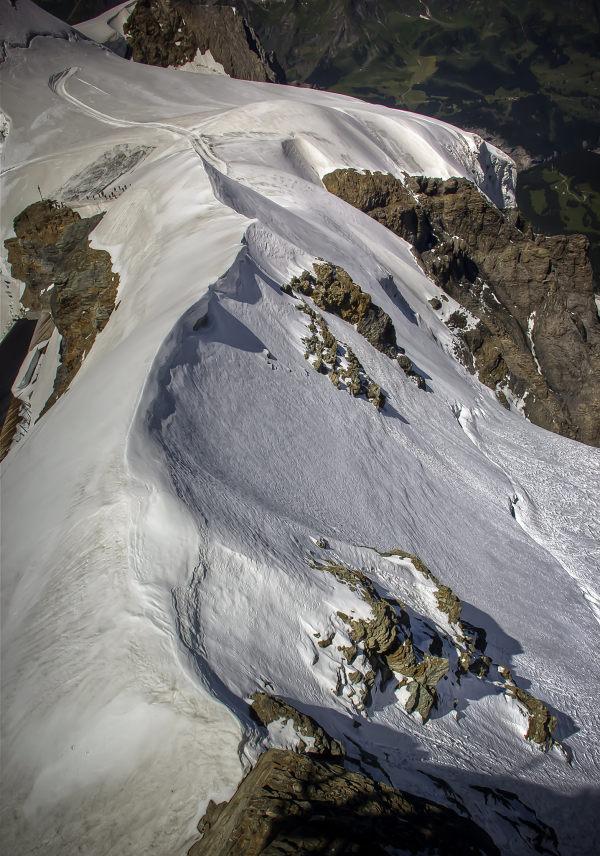Jungfraujoch, White Winding Ridge