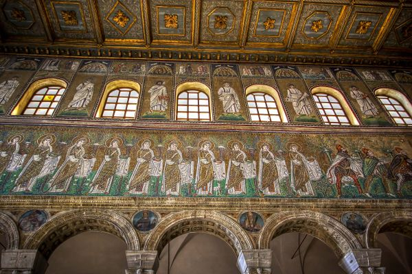 Ravenna Mosaics S. Apollinare Nuovo
