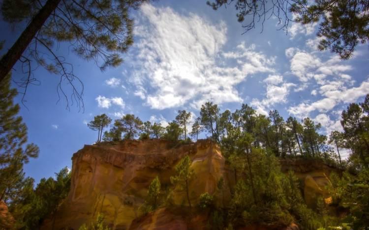 Roussillon Sentier de l'Ochre