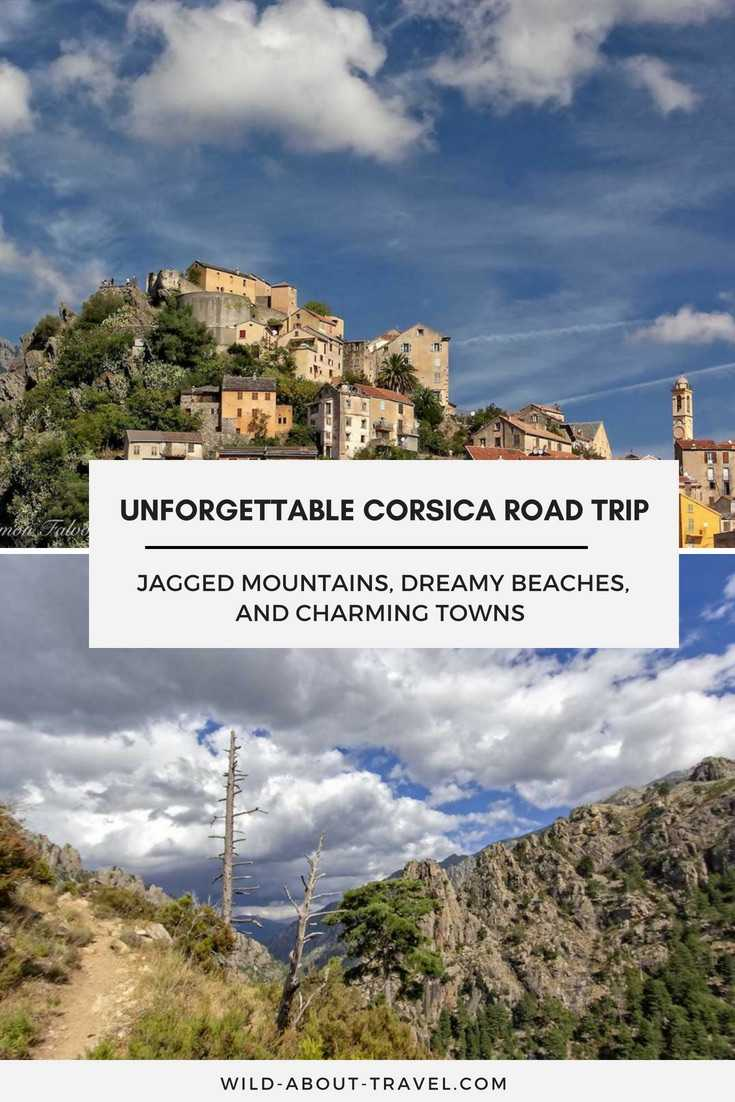 If you haven't been yet, add a Corsica Road Trip to your travel wish list. Discover where to go and what to see in Corsica, from dreamy beaches to jagged mountains, and charming towns. Find out where to stay in Corsica, and about driving in Corsica. #Corsica #France #Roadtrips