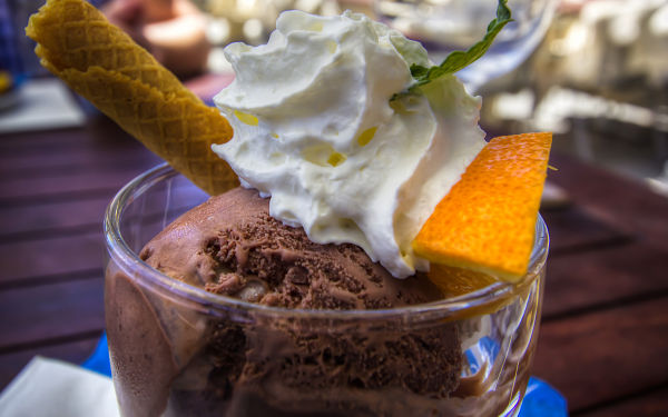 Grindelwald First Restaurant, Unmissable Chocolate Mousse
