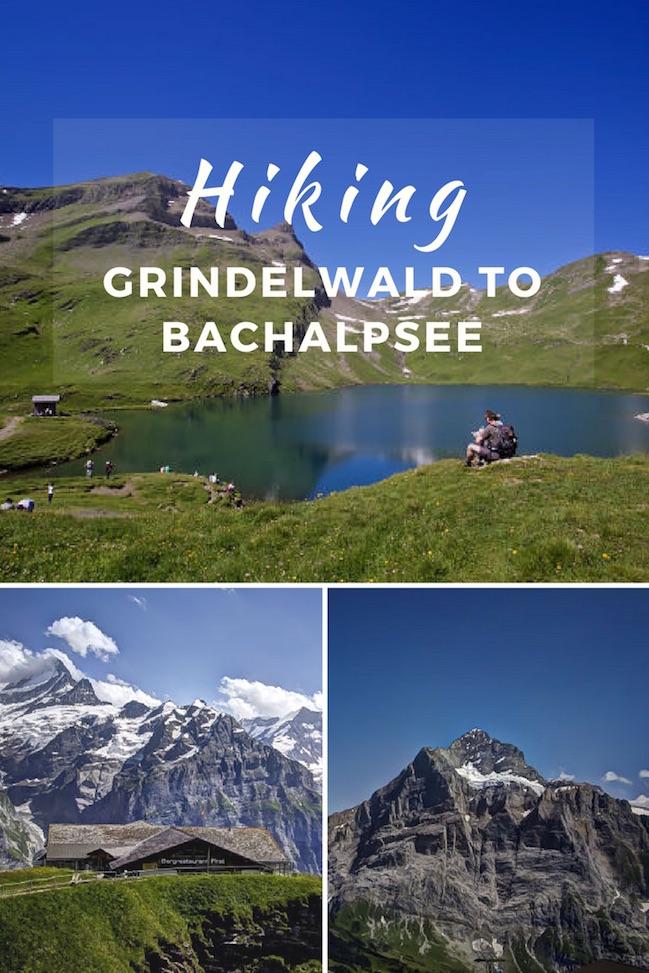 Hiking Grindelwald Bachalpsee