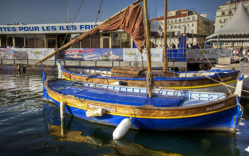 Marseille Vieux Port, Fishermen's Boats
