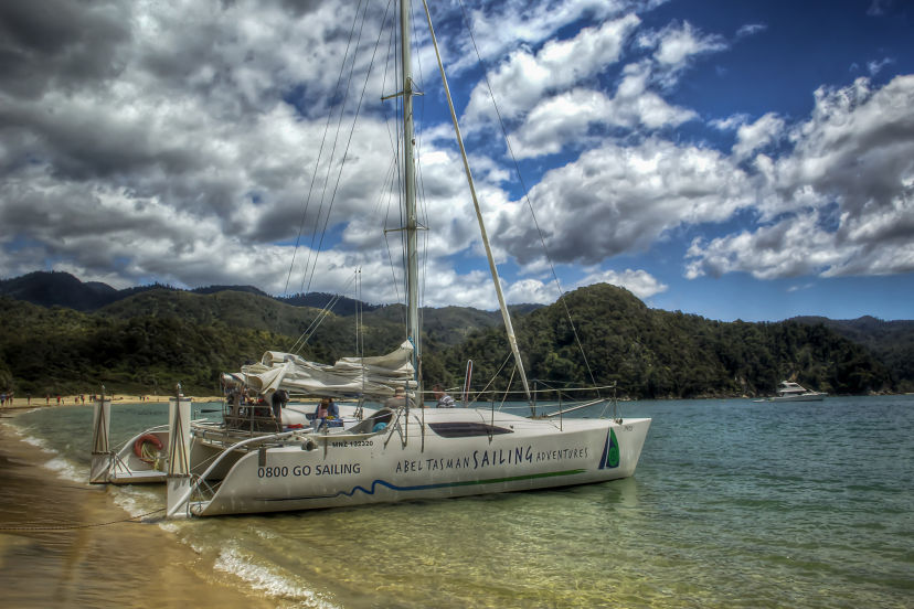 New Zealand, Sailing Abel Tasman NP