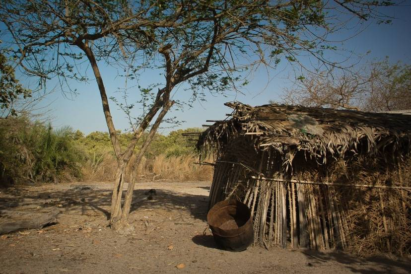 The Hut of Makasutu Healer